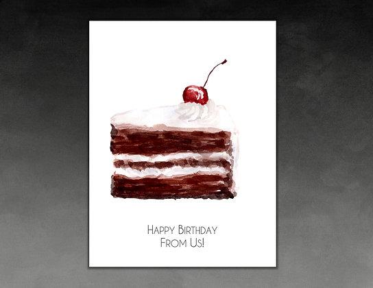 Funny Not Formal Birthday Card