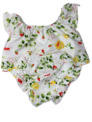 Flower 2 Piece Set - 6-12 m