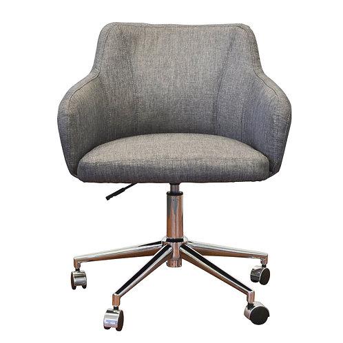 Davis Fabric Executive Office Chair - Charcoal