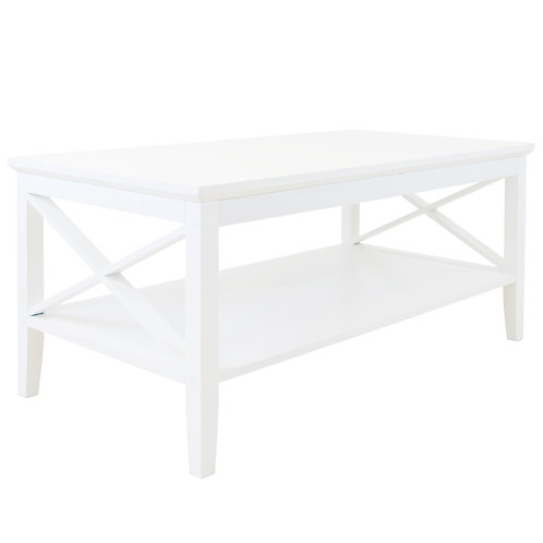 Long Island Rectangular Coffee Table - White