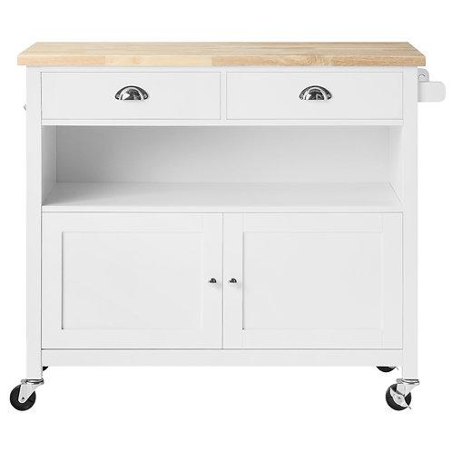 Hampshire 2 drawer 2 door Kitchen Storage Trolley