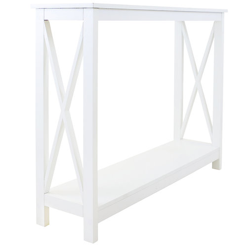Long Island Console Table 100cm - White