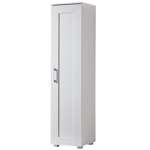 Montreal Cupboard Single Door Tall White