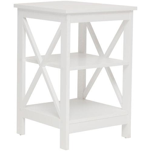 Long Island Side Table 2 Shelf