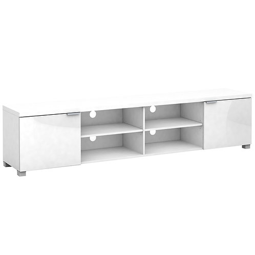 Kyana High Gloss 4 Compartments 2 Door Entertainment Unit