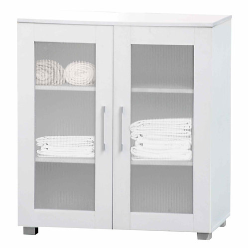 Aspen Cupboard 2 Door Low White