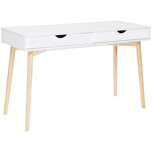 Scandi Style white study desk
