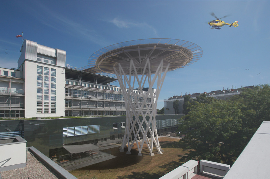 Hubschrauberlandplatz
