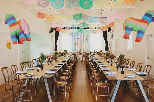Fiesta themed wedding