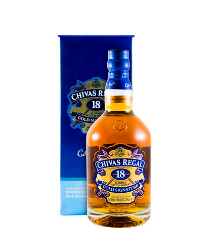 Chivas Regal 18 years Gold Signature