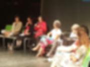 Presença de Angel Vianna no lançamento de livos no Seminário