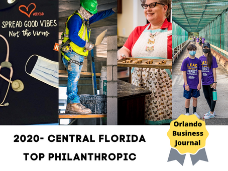 Central Florida - Top 20 Most Philanthropic Companies