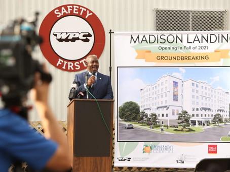 Madison Landing Groundbreaking Event - Affordable Senior Housing in Orange County