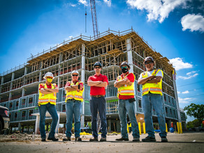 Madison Highlands Topping Out