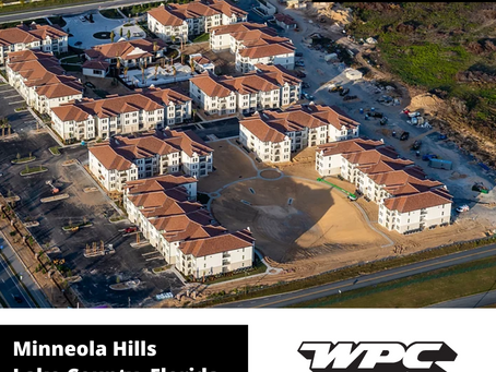 First Multifamily Community in Minneola  - Nearing Completion