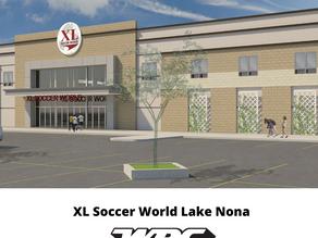 XL Soccer World Lake Nona – November Opening