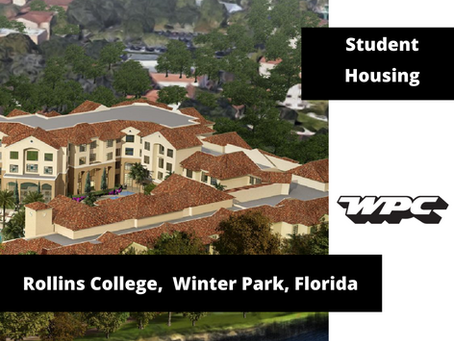 ROLLINS COLLEGE - NEW LAKESIDE NEIGHBORHOOD READY FOR STUDENT ARRIVAL