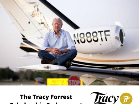 Announcing The Tracy Forrest Scholarship Endowment