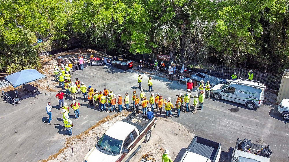 WPC and construction partners celebrate the Topping Out of Madison Highlands, an affordable senior housing community in Hillsborough County, Florida.