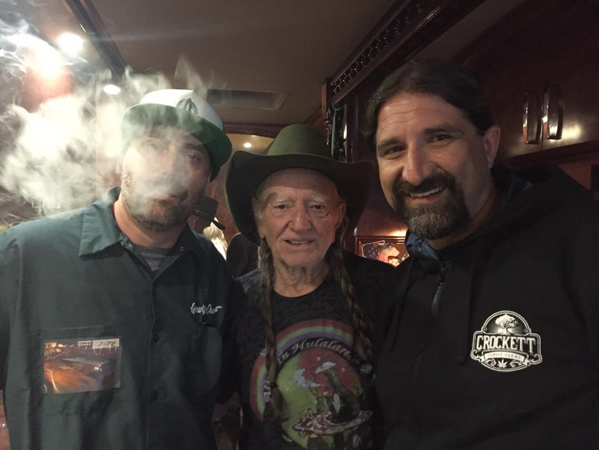 Willie Nelson & Aaron from DNA