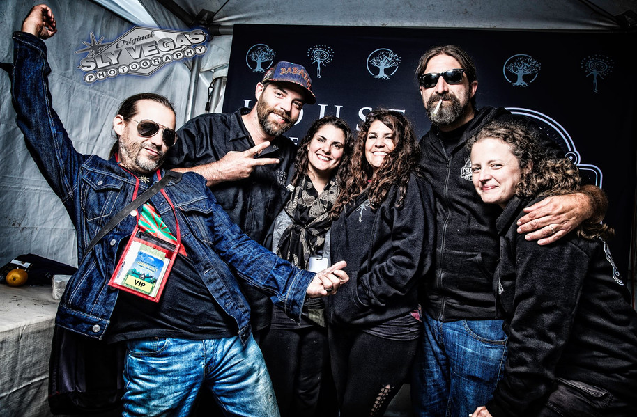 With Matt & Sarah of Great Gardener at Legends Valley Music Festival - Vancouver Island 2017. Photo by Sly Vegas