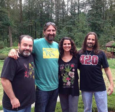 High Times senior cultivation editor Danny Danko (left), April & Bobby Black