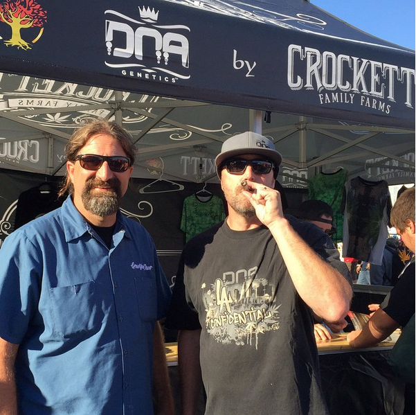 Crockett and Aaron from DNA Genetics at ???.