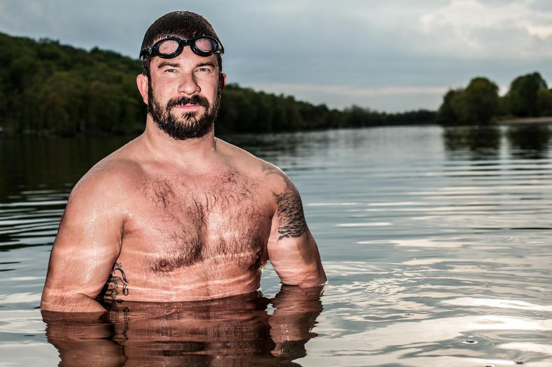 Personal Branding photo for endurance athlete Darren Miller