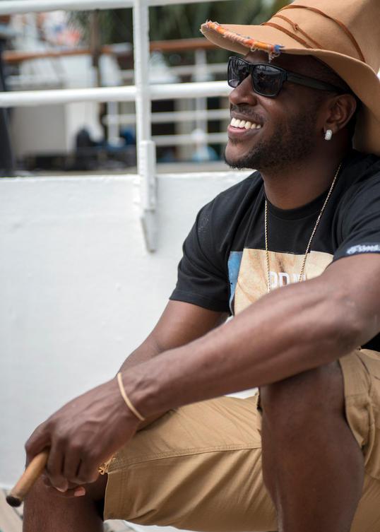 Portrait of NFL Star Antonio Brown