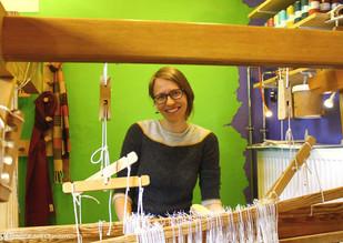 Robyn Chamberlain - Besitzer der Craft Pigeon Handweberei