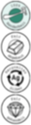 Ethische Schmuckabzeichen - 100% Handarb