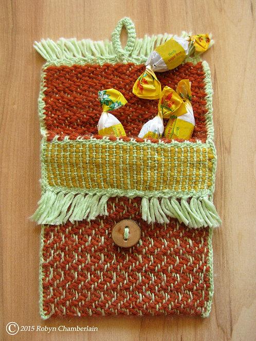 Tangerine Shock » Hand-woven Keeper