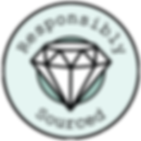 Responsibly sourced gemstones badge