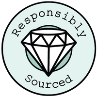 Responsibly sourced gemstones badge