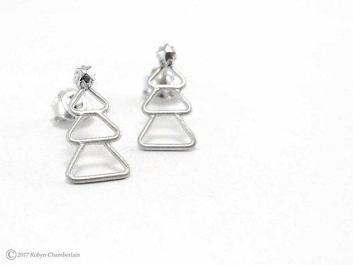 Winterzauber » Sterling-Silber Ohrringe