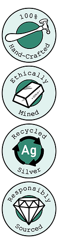 Sustainable Jewellery Badges