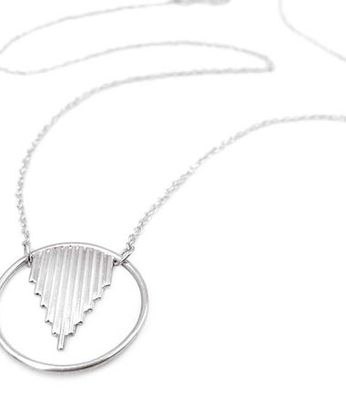 Oracle - Minimalist recycled sterling si