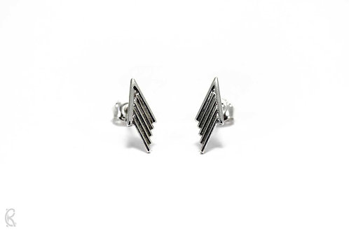 Pfeilspitze » Sterling-Silber Ohrringe