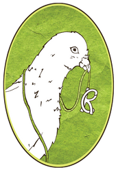 Craft Pigeon Logo - Organic Hand-woven A