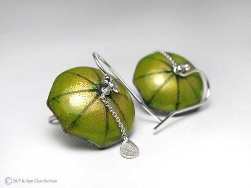 Juciy Lime » Enamel Umbrella Earrings