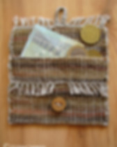 Hand-woven pouches - keeps your small items safe