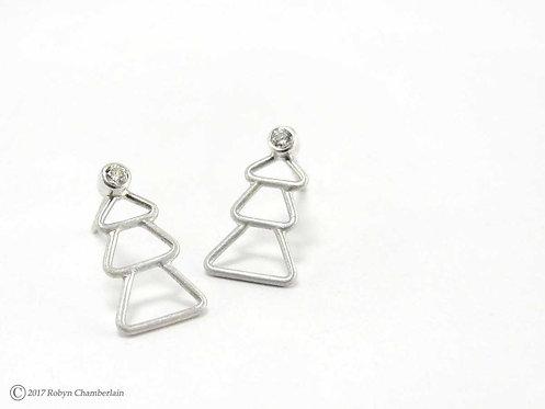 Shining Star » Silver Earrings