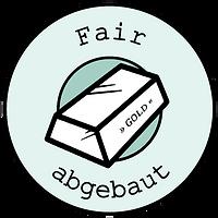 Fair abgebauter Gold logo
