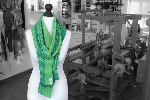 Forest Path » Organic Handwoven Scarf (without fringe)