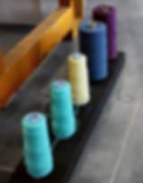Organic yarn - organic cotton, organic linen, organic wool