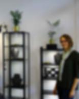 Robyn Chamberlain Jewellery - Robyn Chamberain in her store in Leipzig - Jahnallee 61 Leipzig