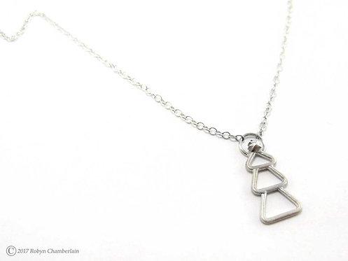 Winterwunder » Sterling-Silber Halskette