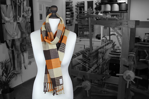 A Little This and That » Cotton Hand-woven Scarf
