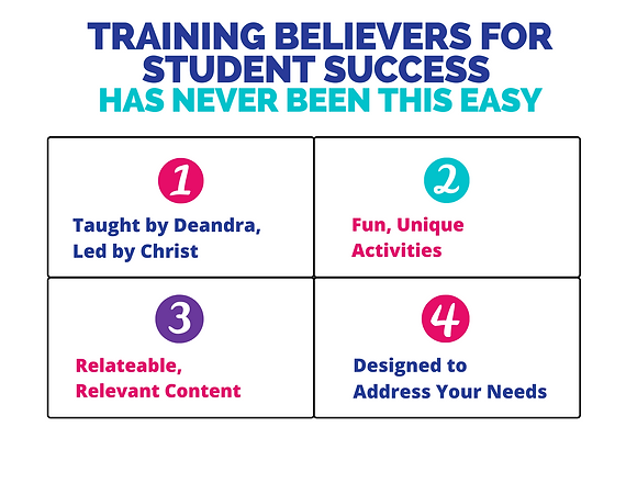 Training Believers for Student Success