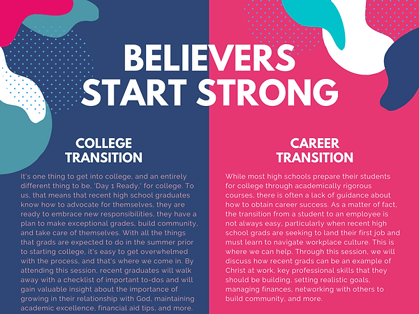 The Believers Student Success Program (7